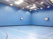 "St Anthony's School Sports Hall by Directline Structures • <a style=""font-size:0.8em;"" href=""http://www.flickr.com/photos/69772070@N03/22876985309/"" target=""_blank"">View on Flickr</a>"