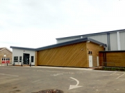 """St Anthony's School Sports Hall by Directline Structures • <a style=""""font-size:0.8em;"""" href=""""http://www.flickr.com/photos/69772070@N03/22616503424/"""" target=""""_blank"""">View on Flickr</a>"""