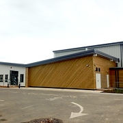 "St Anthony's School Sports Hall by Directline Structures • <a style=""font-size:0.8em;"" href=""http://www.flickr.com/photos/69772070@N03/22616503424/"" target=""_blank"">View on Flickr</a>"