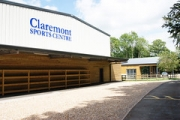 """Claremonet Senior School Sports Hall by Directline Structures • <a style=""""font-size:0.8em;"""" href=""""http://www.flickr.com/photos/69772070@N03/14596917846/"""" target=""""_blank"""">View on Flickr</a>"""
