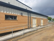 """Ockendon Academy Sports Hall by Directline Structures Ltd • <a style=""""font-size:0.8em;"""" href=""""http://www.flickr.com/photos/69772070@N03/48255749037/"""" target=""""_blank"""">View on Flickr</a>"""