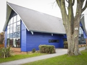"""Kent College Visitor centre by Directline Structures • <a style=""""font-size:0.8em;"""" href=""""http://www.flickr.com/photos/69772070@N03/6890883887/"""" target=""""_blank"""">View on Flickr</a>"""