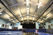 """Claremont School hall by Directline Structures • <a style=""""font-size:0.8em;"""" href=""""http://www.flickr.com/photos/69772070@N03/7643039142/"""" target=""""_blank"""">View on Flickr</a>"""