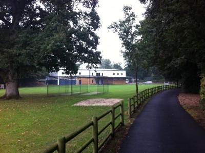 The finished sports hall