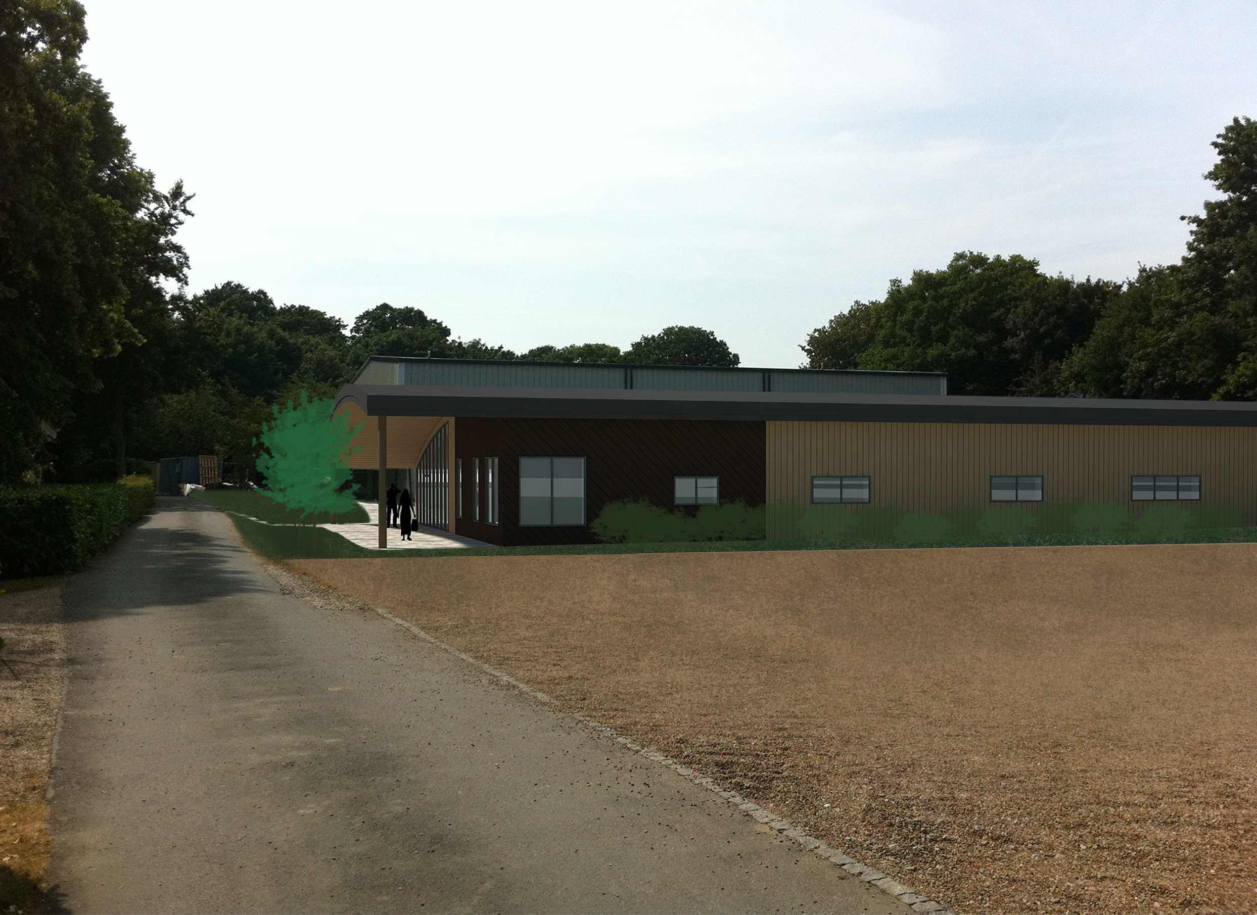 Claremont Sixth Form by Directline Structures